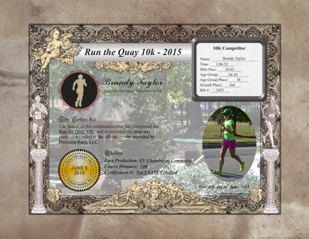 Race Commemorative - Run the Quay