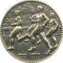 Round Bronze Medal